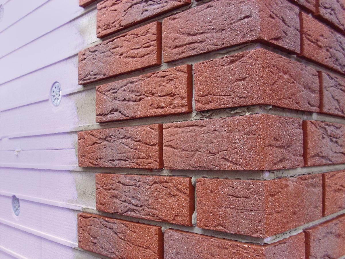 Super Rostak-Fassadenverkleidung-Isolierklinker-Klinkerriemchen SX76