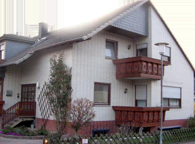 Haus mit Klinkerfassade